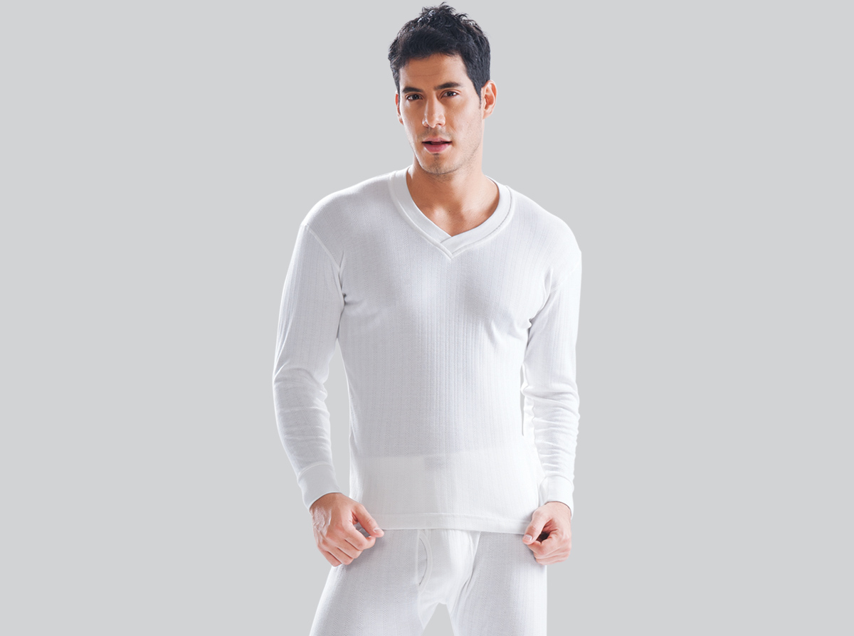 Thermal Man Top V-neck